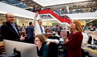 Newsroom Analytics Manager at the New York Times